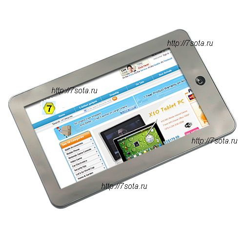 EKEN M002 Mini копия iPad 7 Inch WiFi 2GB Gravity Sensor Silver