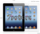 Apple iPad3 Wi-Fi + 4G 32 GB белый